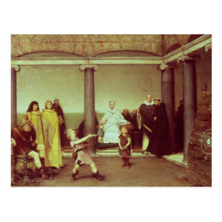 Alma-Tadema | Education of Children of Clothilde Postcard