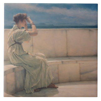 Alma-Tadema   Expectations, 1885 Tile