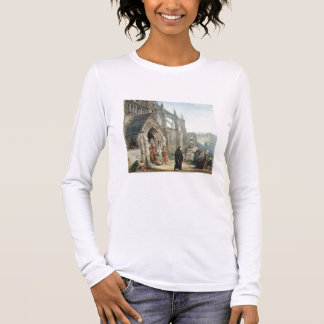 Alma-Tadema | Faust and Marguerite, 1857 Long Sleeve T-Shirt