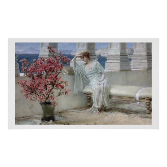 Alma-Tadema | Her eyes are with her thoughts�