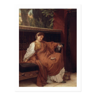 Alma-Tadema | Lesbia Weeping over a Sparrow Postcard