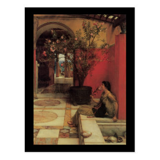 Alma Tadema Oleander Postcard