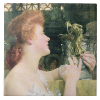 Alma-Tadema | The Golden Hour, 1908 Tile