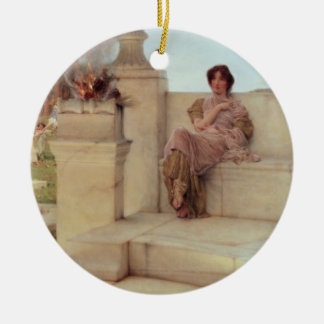 Alma-Tadema | The Voice of Spring, 1908 Christmas Ornament