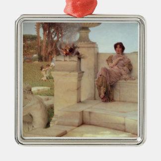 Alma-Tadema | The Voice of Spring, 1908 Christmas Ornament