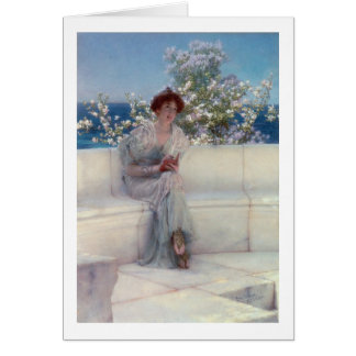Alma-Tadema | The Year is at the Spring Card
