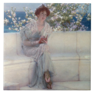 Alma-Tadema | The Year is at the Spring Tile
