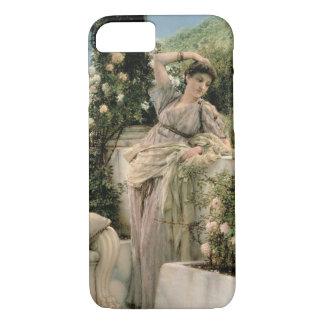 Alma-Tadema | 'Thou Rose of All the Roses', 1885 iPhone 7 Case