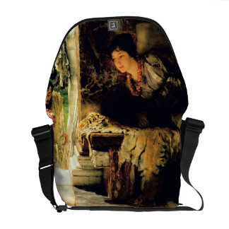 Alma-Tadema | Welcome Footsteps, 1883 Commuter Bag