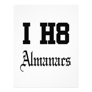 almanacs flyers