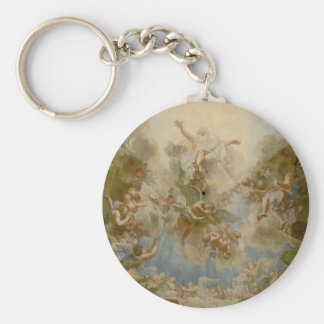Almighty God the Father - Palace of Versailles Basic Round Button Key Ring