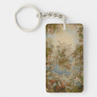 Almighty God the Father - Palace of Versailles Single-Sided Rectangular Acrylic Keychain