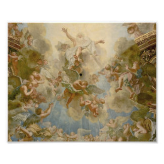 Almighty God the Father - Palace of Versailles Photographic Print