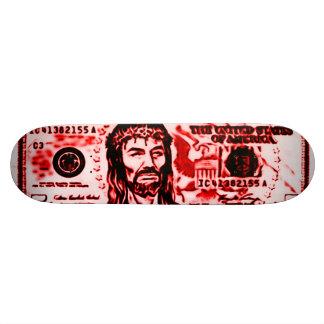 Almighty Jesus Bloody Savior Graffiti Deck 18.1 Cm Old School Skateboard Deck