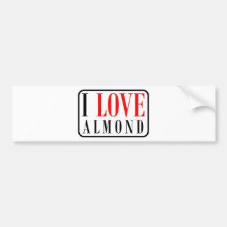 Almond, Alabama City Design Bumper Sticker
