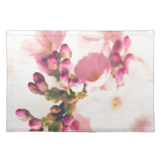 Almond blooms kind placemat