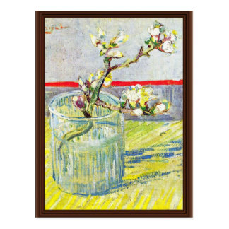 Almond Blossom Branches By Vincent Van Gogh Postcard