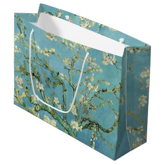 Almond Blossom by Van Gogh Fine Art Large Gift Bag