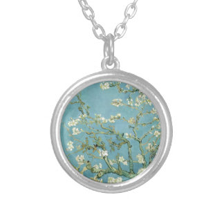 Almond Blossom by Van Gogh Necklaces