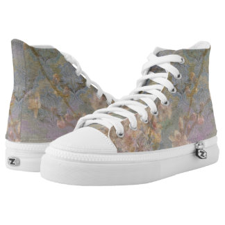 Almond Blossom Composite High Tops Printed Shoes