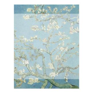 Almond Blossoms by Vincent Van Gogh 21.5 Cm X 28 Cm Flyer