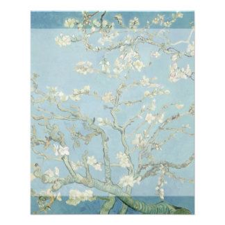 Almond Blossoms by Vincent Van Gogh Flyers