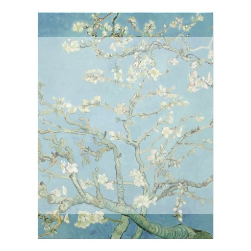 Almond Blossoms by Vincent Van Gogh Full Color Flyer