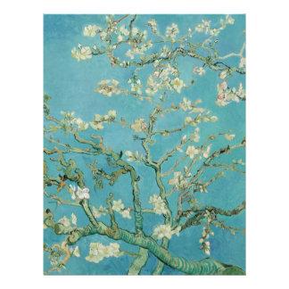 Almond Blossoms by Vincent van Gogh Flyer Design