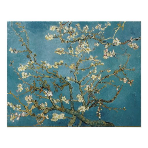 Almond Blossoms by Vincent van Gogh Posters