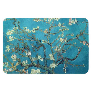 Almond Blossoms Rectangle Magnets
