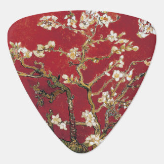 Almond Blossoms Red Vincent van Gogh Art Painting Plectrum