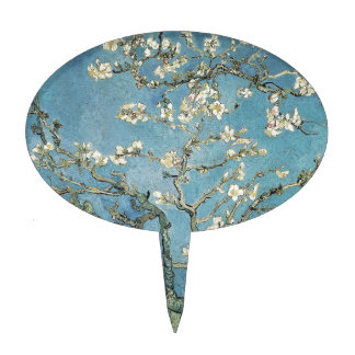 Almond branches in bloom, 1890, Vincent van Gogh Cake Pick