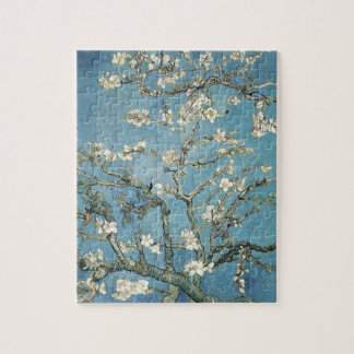 Almond branches in bloom, 1890, Vincent van Gogh Jigsaw Puzzles