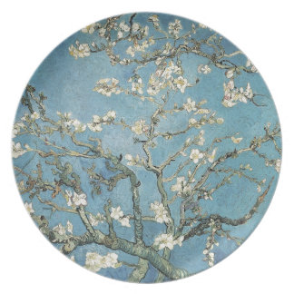 Almond branches in bloom, 1890, Vincent van Gogh Party Plate