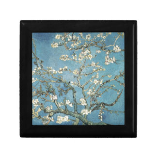 Almond branches in bloom, 1890, Vincent van Gogh Small Square Gift Box