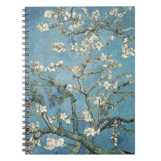 Almond branches in bloom, 1890, Vincent van Gogh Spiral Notebooks