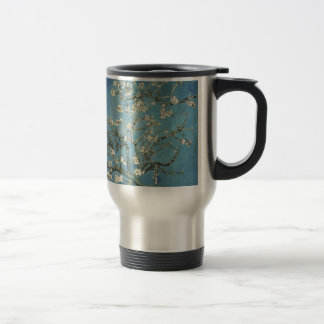 Almond branches in bloom, 1890, Vincent van Gogh Stainless Steel Travel Mug