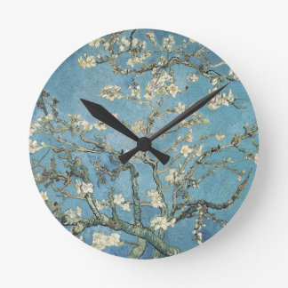 Almond branches in bloom, 1890, Vincent van Gogh Wall Clock