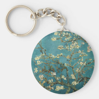 Almond Branches in Bloom Key Ring