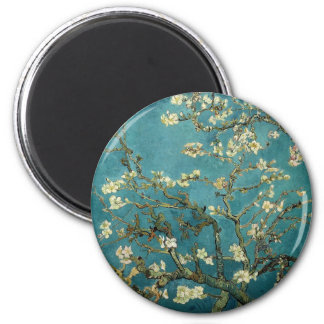 Almond Branches in Bloom Magnet