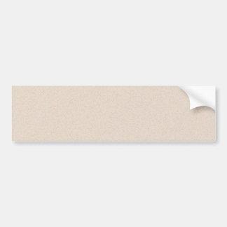 Almond Brown Star Dust Bumper Sticker