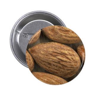 Almond Closeup 6 Cm Round Badge