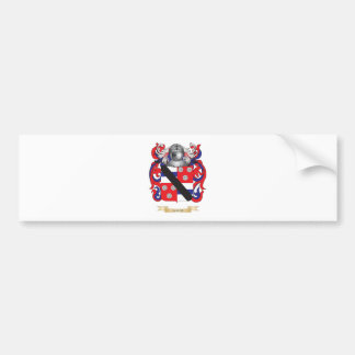 Almond Coat of Arms (Family Crest) Bumper Sticker