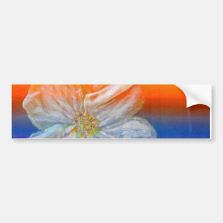 Almond Flower in Spectrum Bumper Stickers