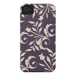 Almond Rose Swirl iPhone 4 Case