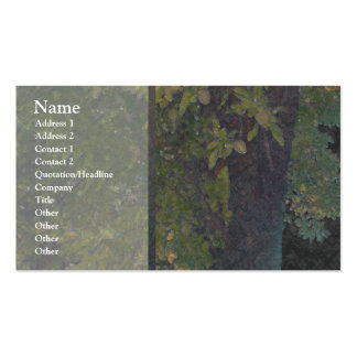 Almond Tree 1 Profile Card Business Card
