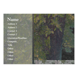 Almond Tree 1 Profile Card Pack Of Chubby Business Cards