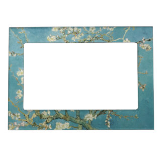 Almond tree in blossom by Vincent Van Gogh Magnetic Frame