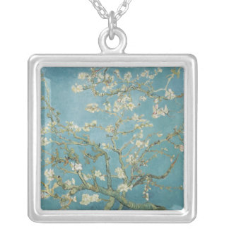 Almond tree in blossom by Vincent Van Gogh Pendant
