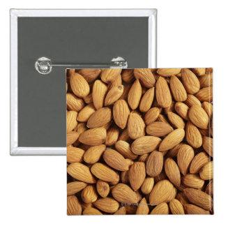 Almonds 15 Cm Square Badge